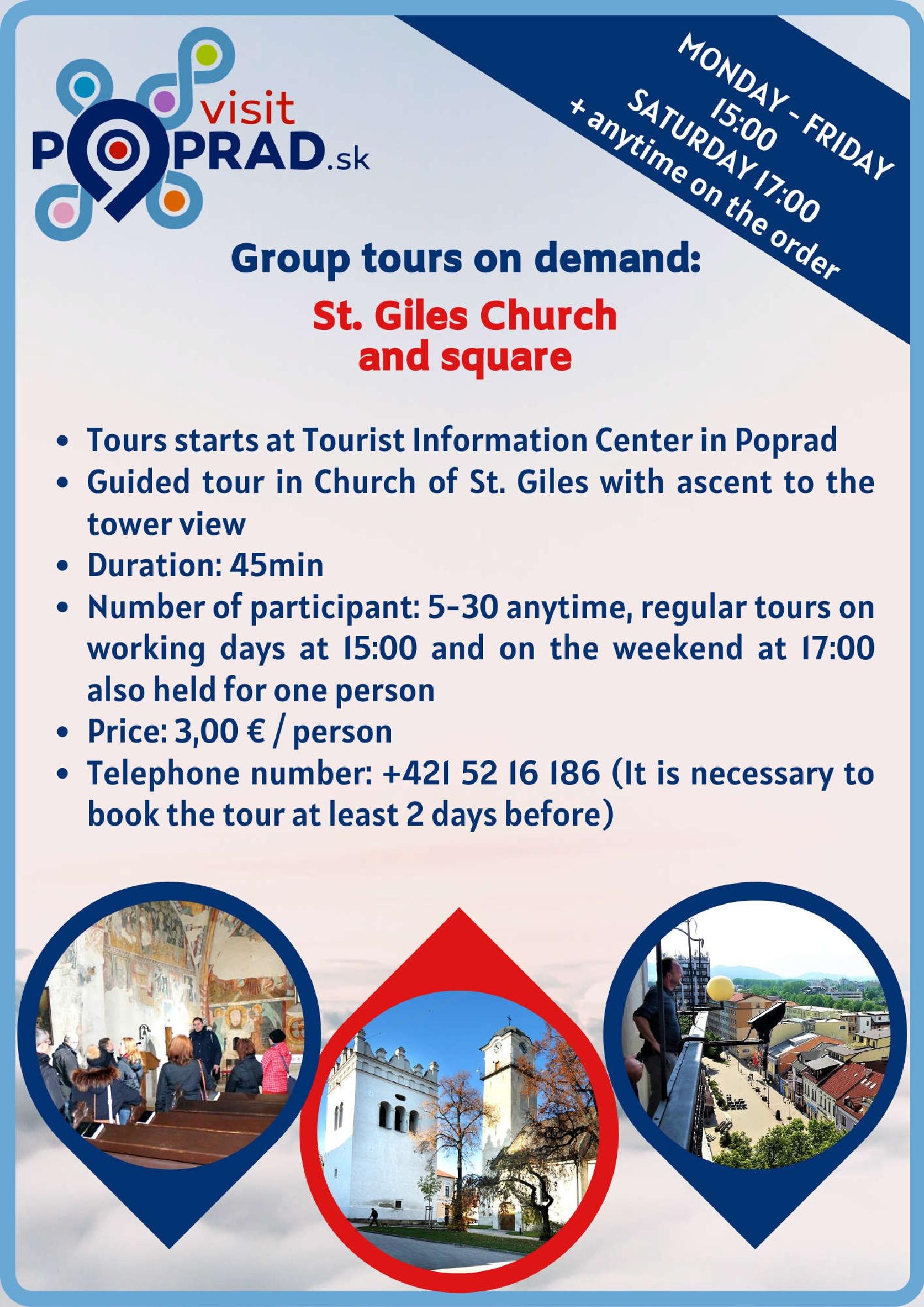 St. Egidius Square, St. Egidius Church (duration: 1 hour), Price: 3.00 €