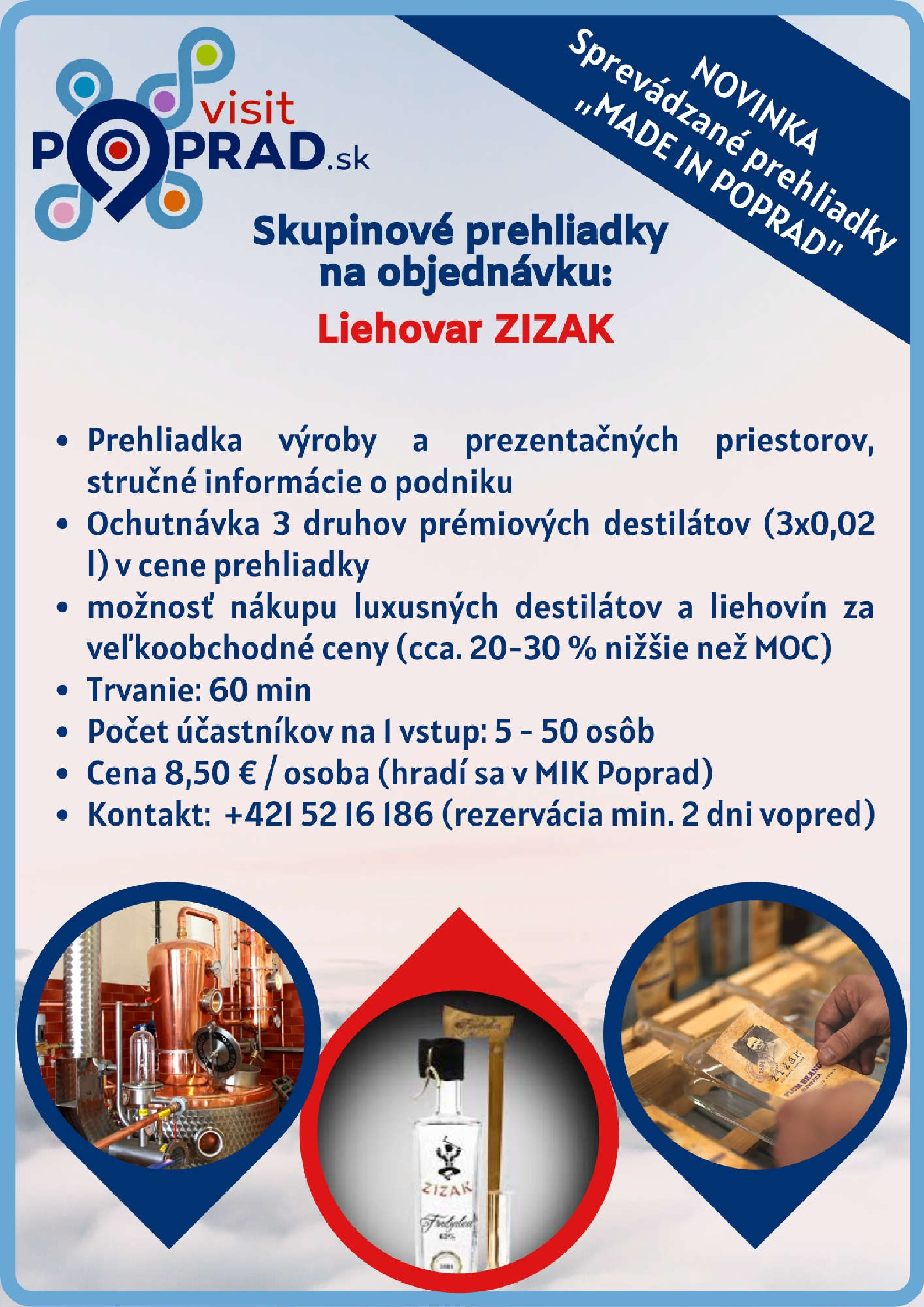 Liehovar ZIZAK (Trvanie: 1 hodina), Cena: 8,50 €