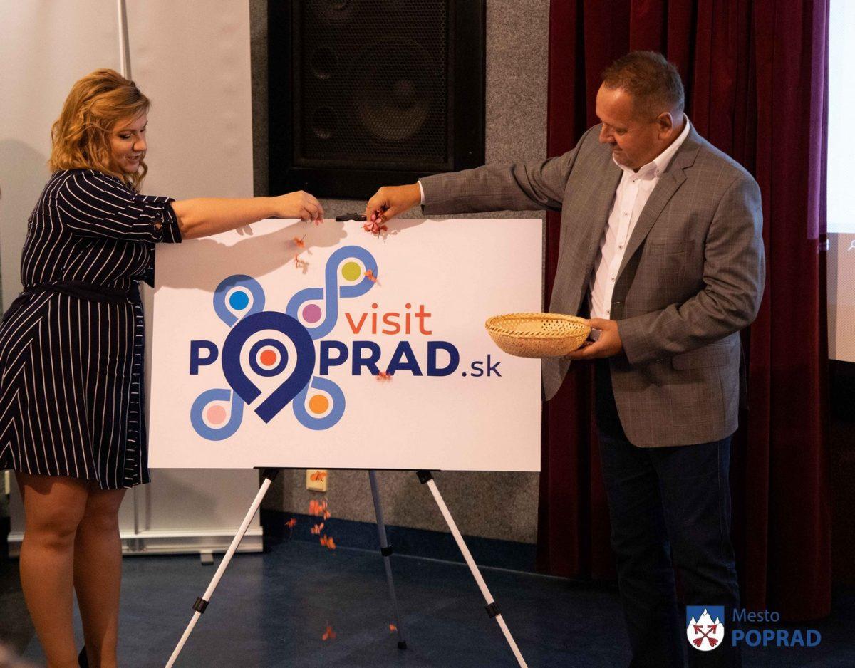 Krst loga a nový turistický systém VisitPoprad.sk