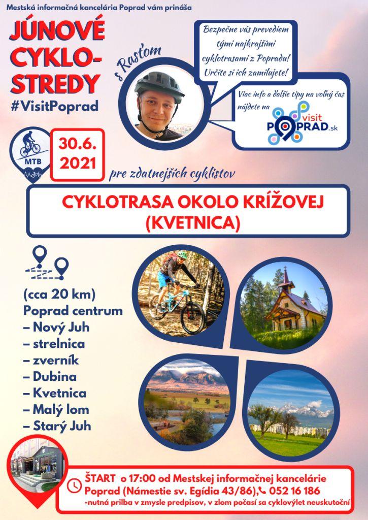 Júnové-cyklostredy-s-visit-poprad-vysoké-tatry-cyklotrasy-tip-na-výlet-Kvetnica-MTB