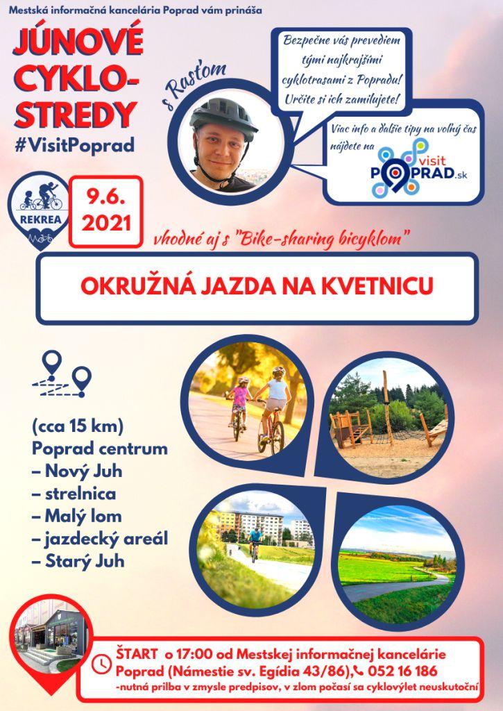 Júnové-cyklostredy-s-visit-poprad-vysoké-tatry-cyklotrasy-tip-na-výlet-pre-deti-rodiny-Kvetnica