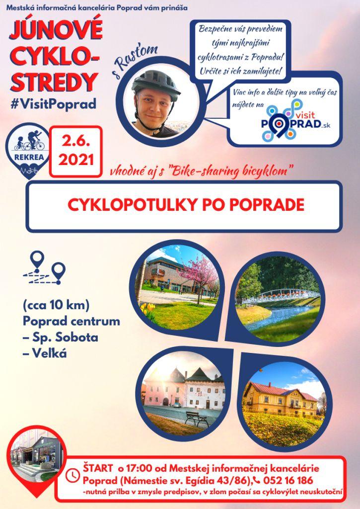 Júnové-cyklostredy-s-visit-poprad-vysoké-tatry-cyklotrasy-tip-na-výlet-pre-deti