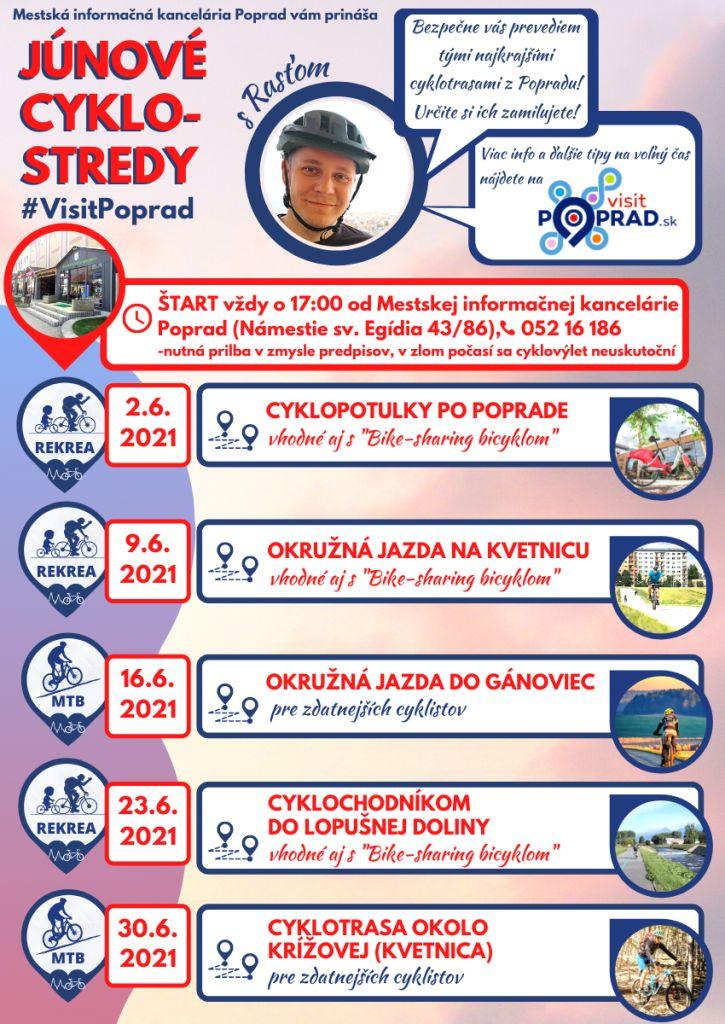 Júnové-cyklostredy-s-visit-poprad-vysoké-tatry-cyklotrasy-tip-na-výlet