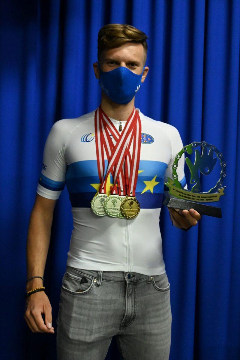 Adrián Babič cyklista Poprad