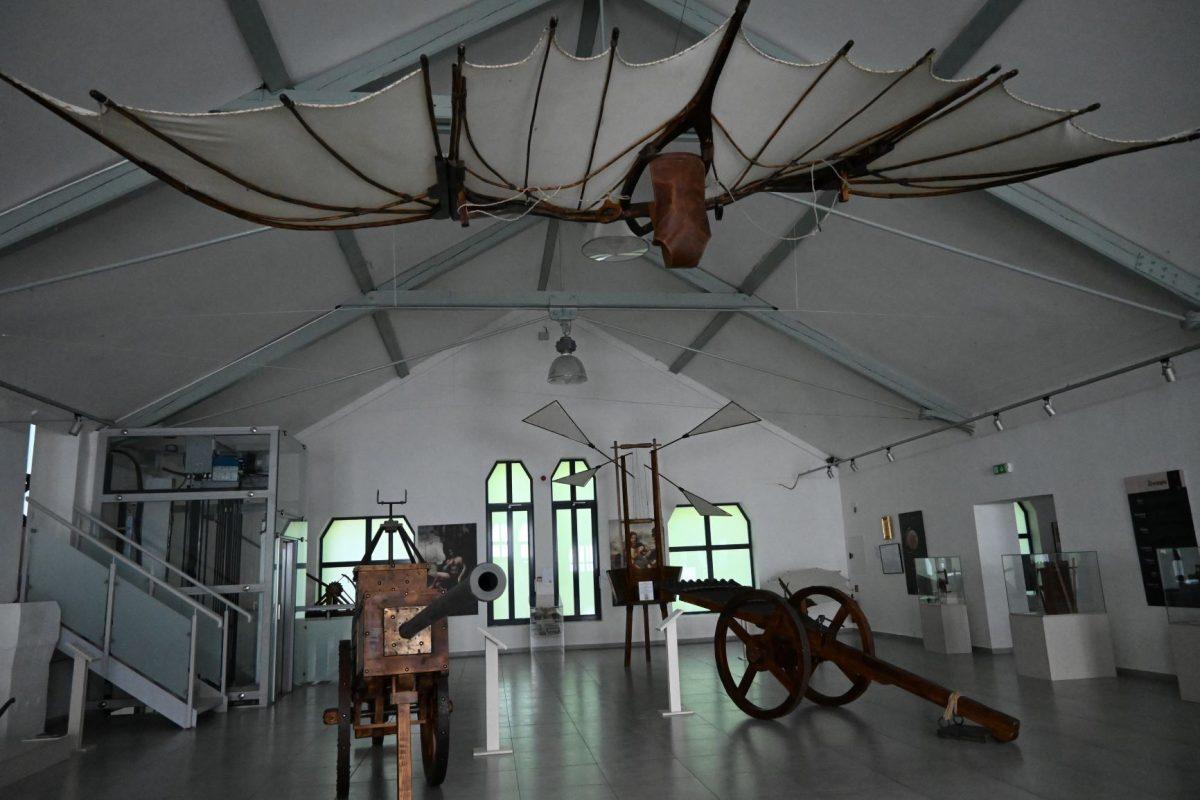 leonardo da vinci stroje a ine tatranska galeria poprad