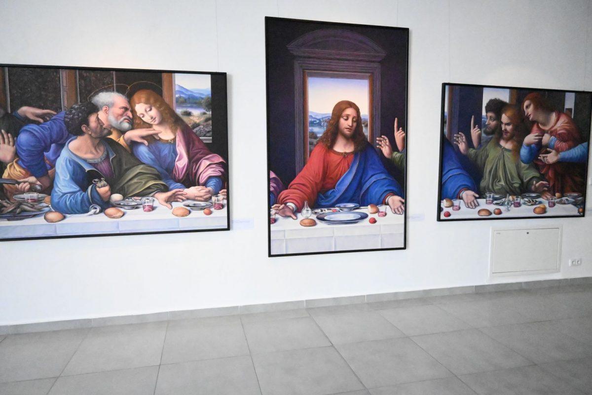 stanislav lajda a posledna vecera leonarda z vinci tatranska galeria poprad